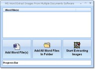 MS Word Extract Images From Multiple Documents Software screenshot